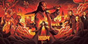 hellboy blood queen poster film