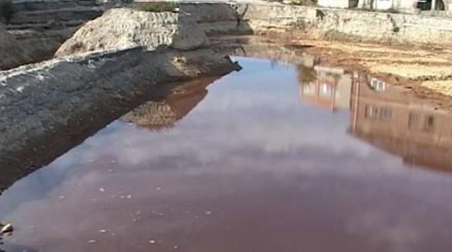 Acque inquinate a Cengio