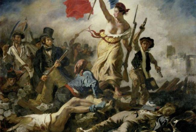 rivoluzione francese quadro di Delacroix