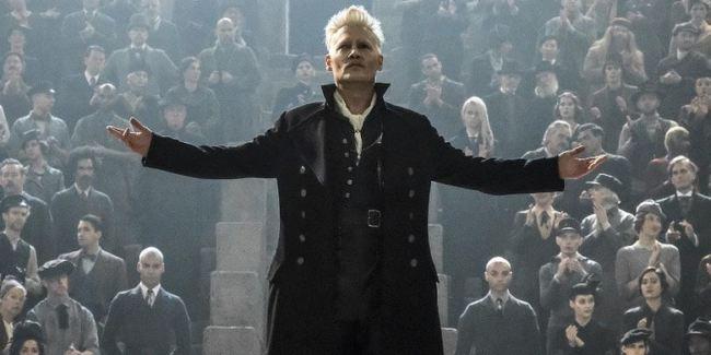 Johnny Depp interpretazione Grindelwald