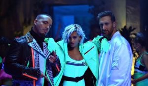 David Guetta, Bebe Rexha e J Calvin nel set del video musicale di Say My Name!