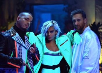 David Guetta, Bebe Rexha e J Calvin nel set del video musicale di Say My Name!