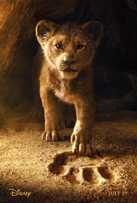 Simba il protagonista del film Il Re Leone