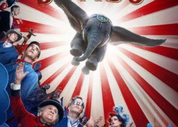 locandina del film Dumbo realizzato da Tim Burton