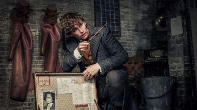 "Newt Scamander dal film ""Animali Fantastici - I Crimini di Grindelwald"