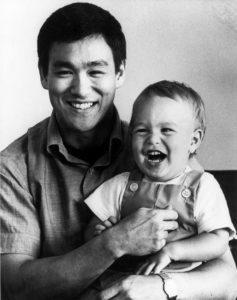 Bruce Lee e il figlio Brandon Lee