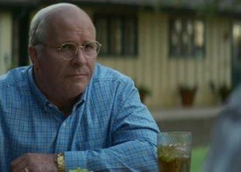 Christian Bale e Sam Rockwell in Vice - L'uomo nell'ombra