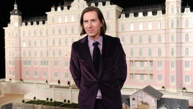 Wes Anderson, Grand Budapest Hotel 2014