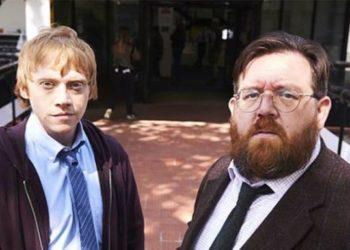 """Ruper Grint e Nick Frost nella controversa serie tv intitolata """"Sick Note"""""""