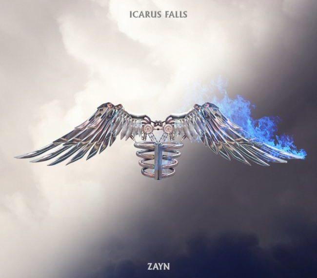La cover di Icarus Falls di Zayn Malik