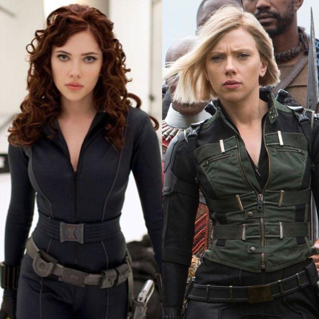 finale Avengers: Endgame - Vedova Nera (Scarlett Johanson)