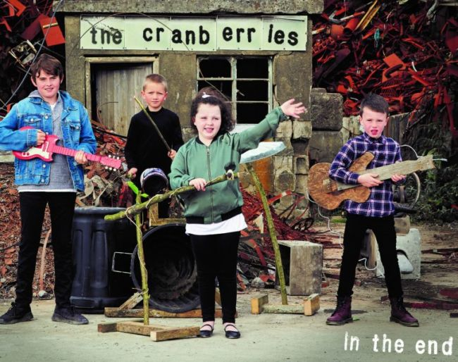 cranberries artwork album in the end