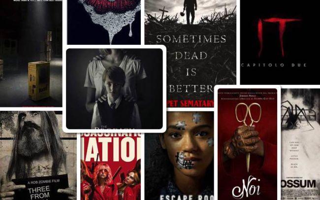 film horror 2019 collage