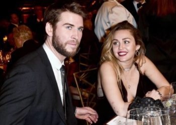 Liam Hemsworth e Miley Cyrus ai G'Day Gala