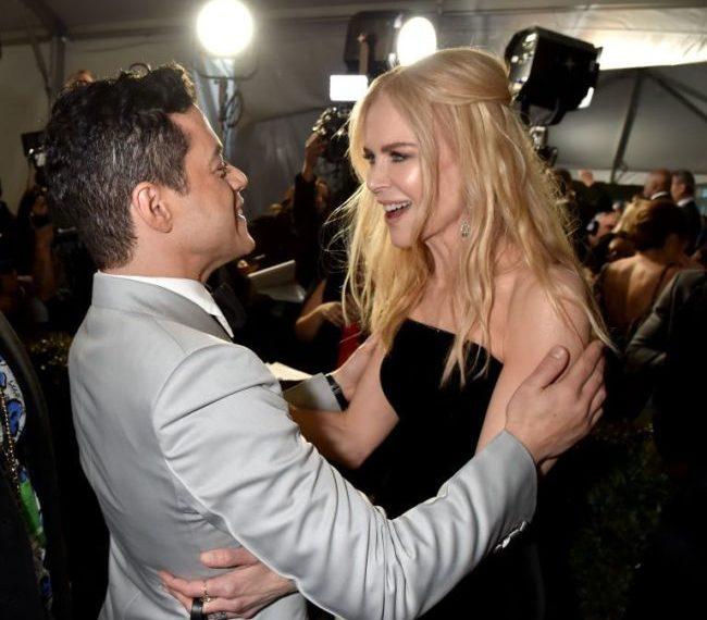 Rami Malek e Nicole Kidman