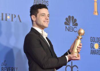 Rami Malek Golden Globe 2019