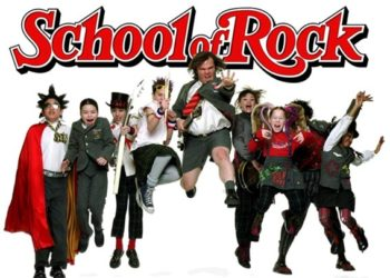 locandina cinematografica school of rock con cast