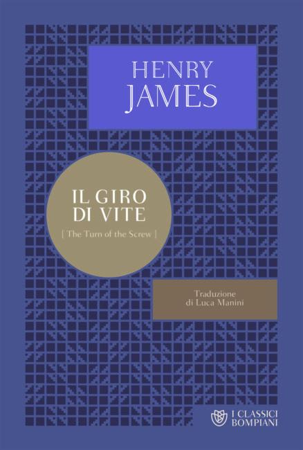 Copertina del libro di Henry James Il giro di Vite