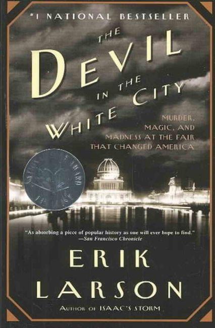 Copertina del libro the devil in the white city di Erik Larson