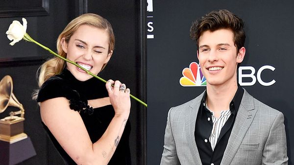 Miley Cyrus e Shawn Mendes