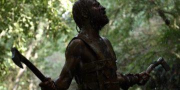 Remo interpretato da Alessandro Borghi in una scena del film Il primo Re