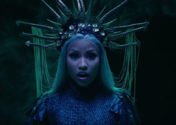 Nicki Minaj video musicale Hard White.