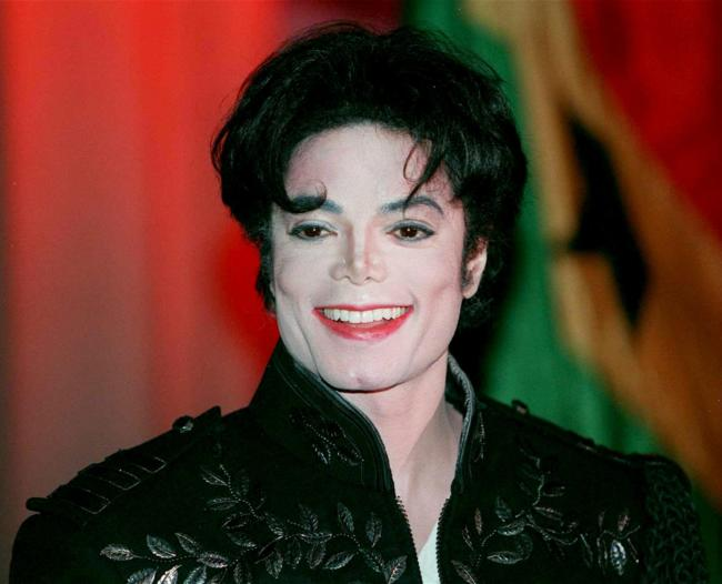 Michael Jackson foto sbiancato