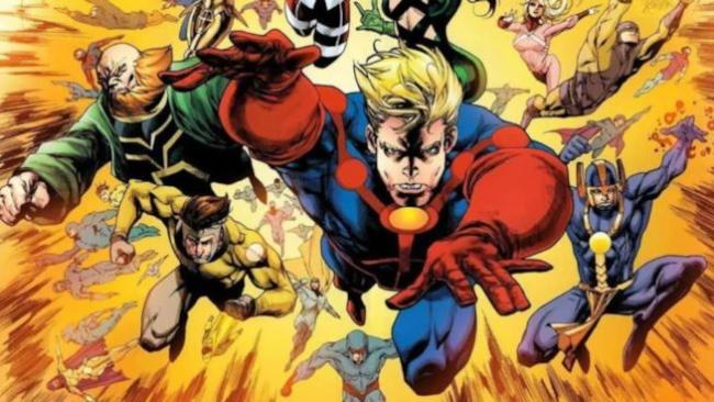 finale Avengers: Endgame - gli eterni - fumetto Marvel
