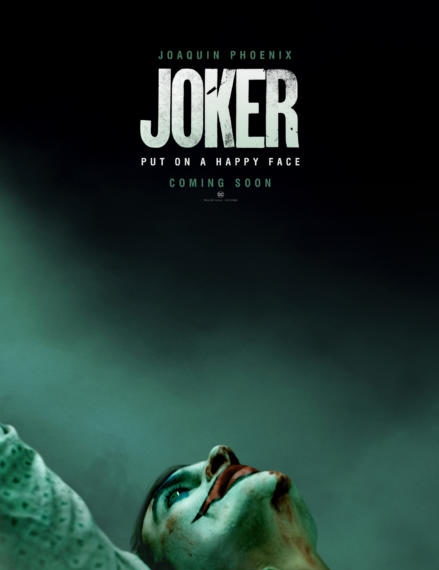 Il primo poster del film Joker