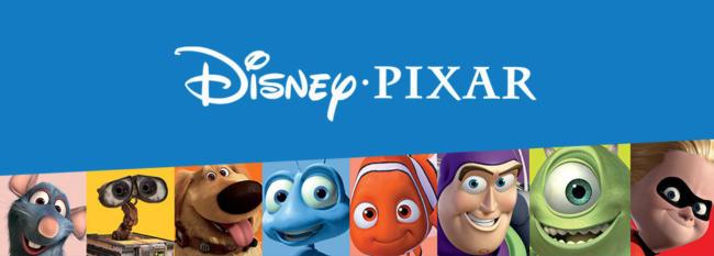 Il logo della Disney Pixar