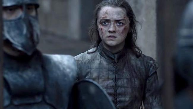 Finale Game of Thrones - Arya