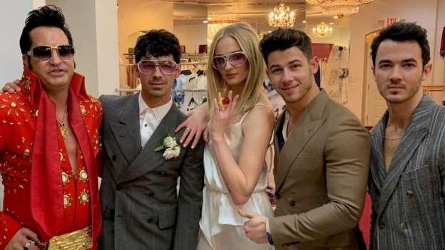 Joe Jonas Sophie Turner sposi a Las Vegas