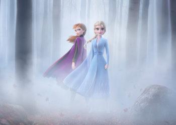 Poster ufficiale di Frozen 2