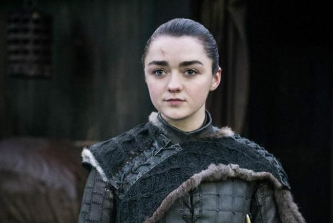 maisie williams arya stark two weeks to live