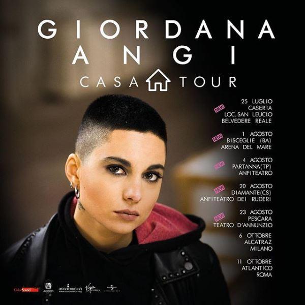 Giordana Angi Casa tour