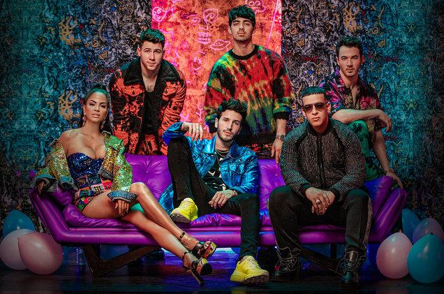 Runaway Jonas Brothers Daddy Yankee Natti Natasha Sebastian Yatra