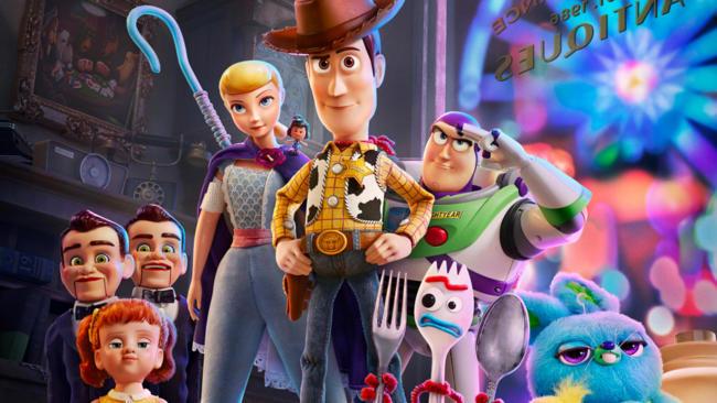Toy Story 4 cast di voci