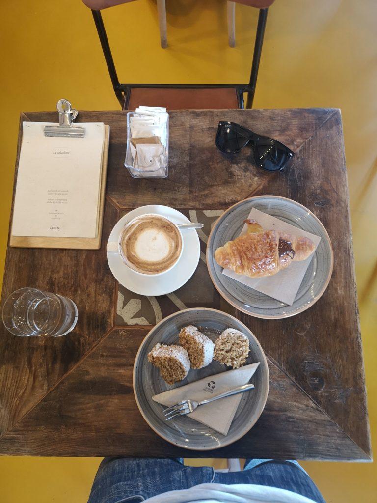 Crosta Milano colazione