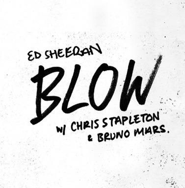 blow ed sheeran bruno mars chris stapleton