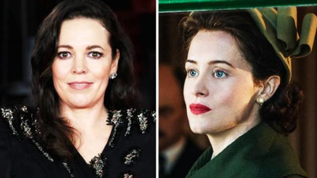 olivia coleman claire foy the crown 3