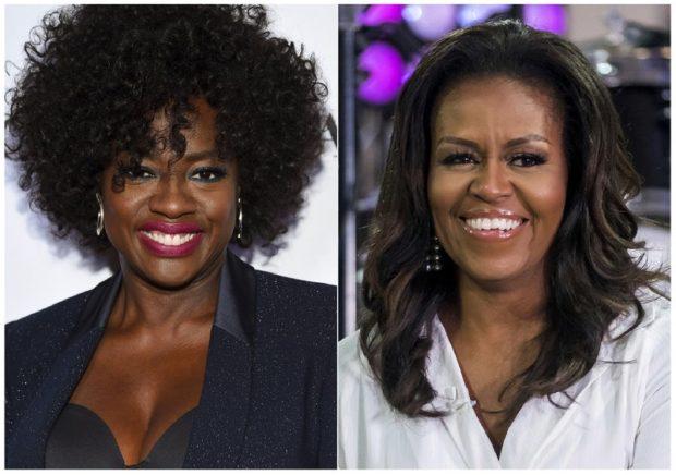 Viola Davis michelle obama serie tv