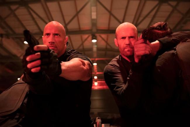 Dwayne Johnson Jason Statham Fast & Furious Hobbs & Shaw