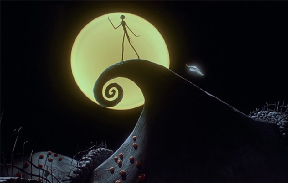 Scena del film Nightmare Before Christmas del 1993