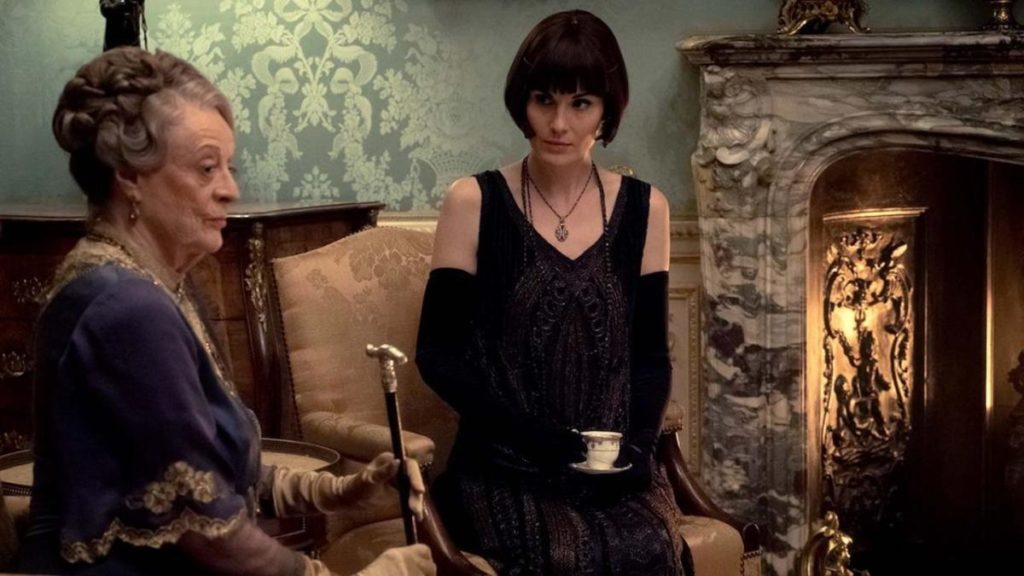 Michelle Dockery e Maggie Smith in Downton Abbey