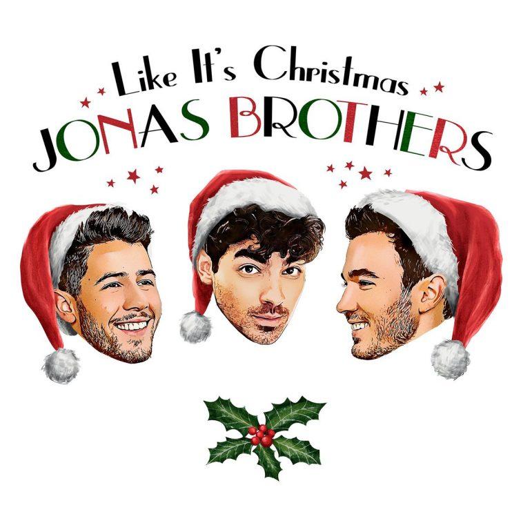 Copertina singolo Jonas Borthers Like It's Christmas