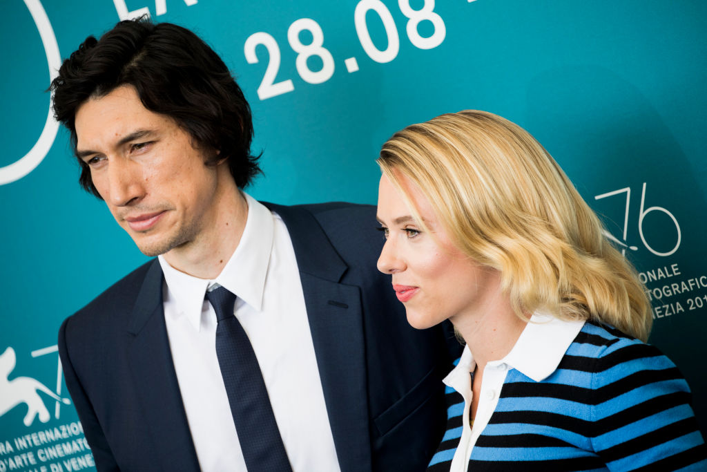 Adam Driver e Scarlett Johansson Marriage Story