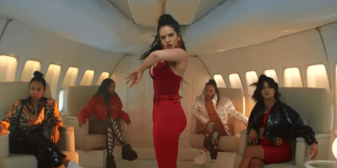 Rosalìa in Con Altura video musicale più visto del 2019