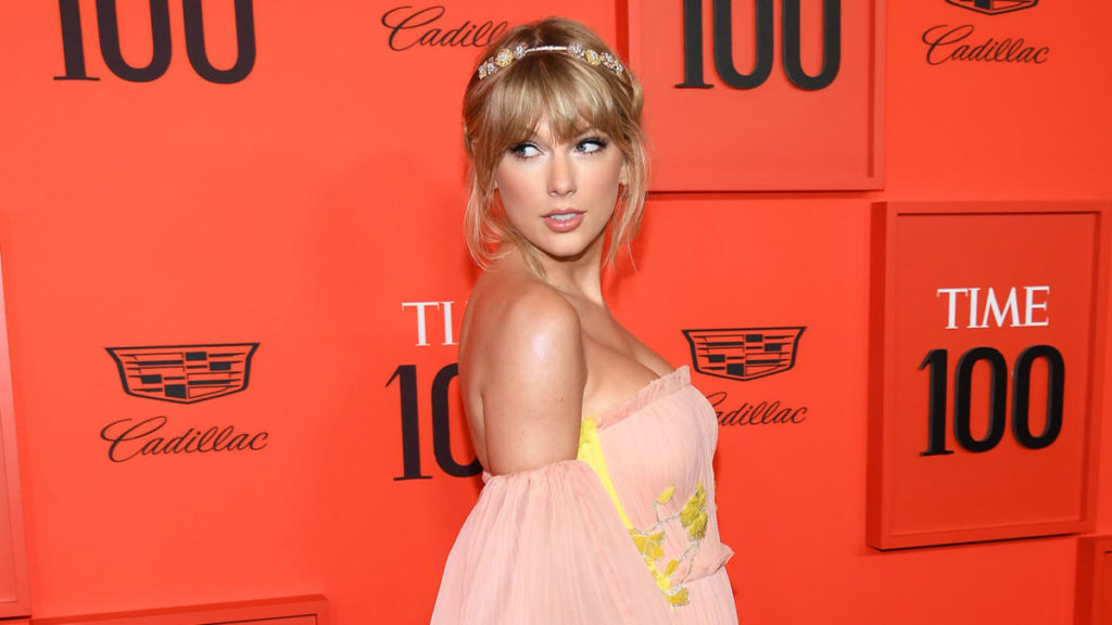 Taylor al galà del Time, tenutosi ad aprile