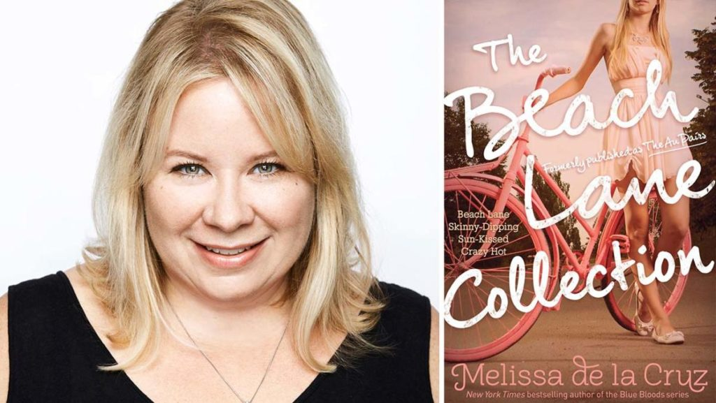 Julie Plec e la copertina del libro Beach Lane Collection