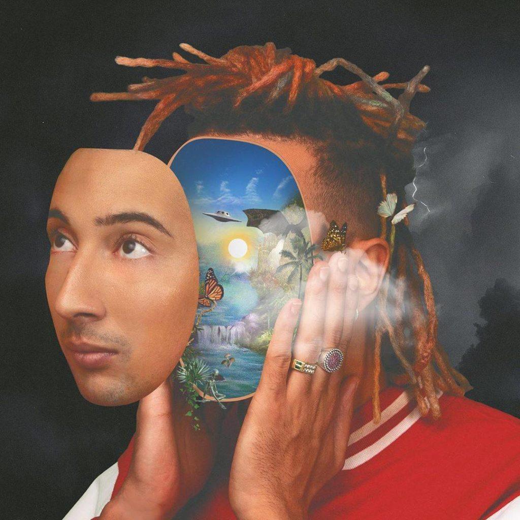 Copertina di DNA, album di Ghali